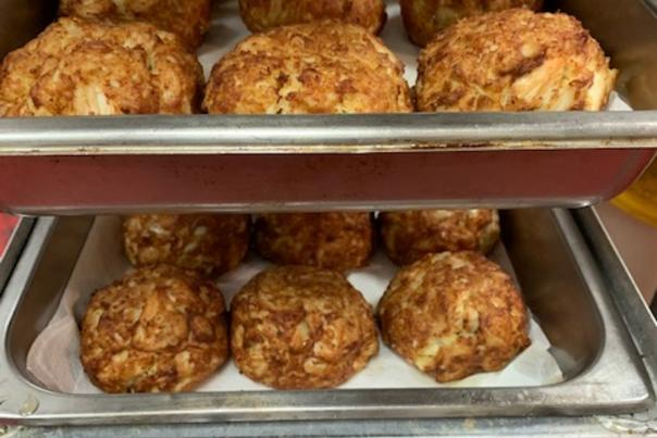 Baseball Crab Cakes