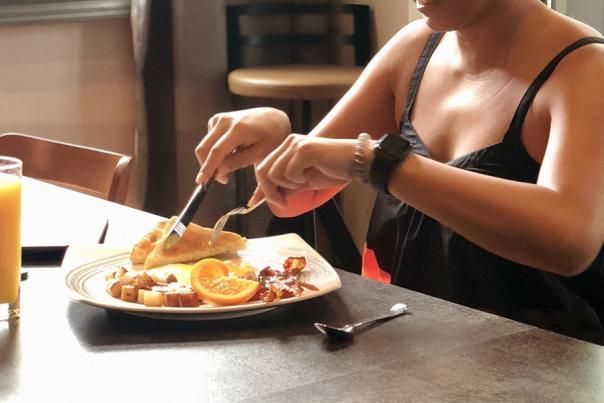 Breakfast, Lunch, and Dinner at Hilton Garden Inn