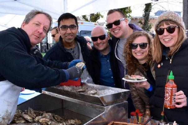 Bring on Spring at the Annapolis Oyster Roast & Sock Burning