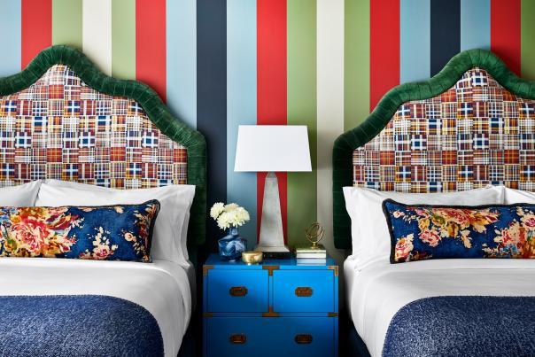 Graduate Hotel Annapolis Double Room Suite.