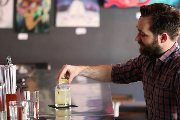 Jeremy's Drink of the Month - The Regalo Verde at Tsunami