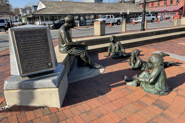 The Kunte Kinta - Alex Haley Memorial in Annapolis, MD.