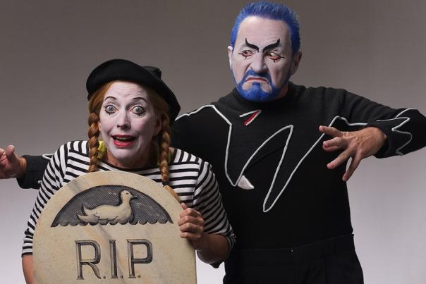 Magic Circle Mime Company Visits Annapolis Symphony Orchestra