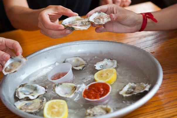 Oysters and Beer this St. Patrick's Day