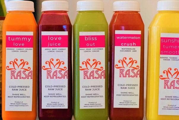 RASA Juice Shop-Changing the World One Juice at a Time