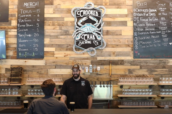 Take a Trip to Crooked Crab Brewing Company