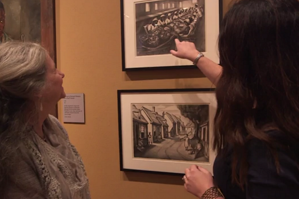 Visit the Ruth Starr Rose Exhibit at the Mitchell Gallery