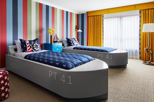 boat beds - graduate hotel