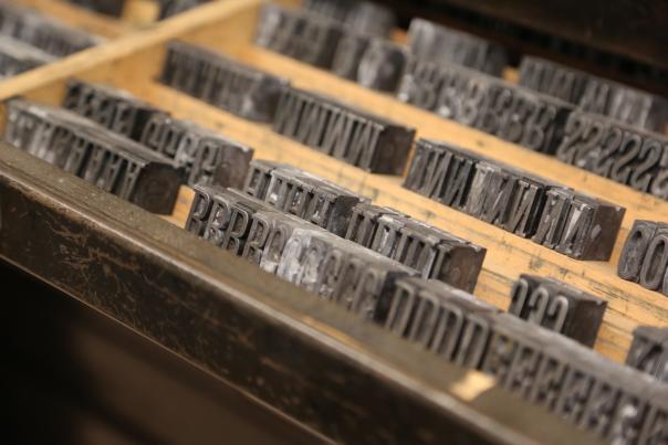 Library Printing Tray