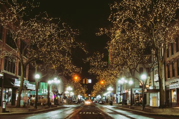 Main Street Holiday Lights