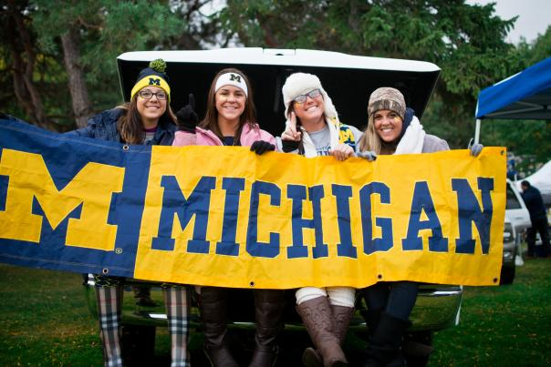 University of Michigan tailgaters