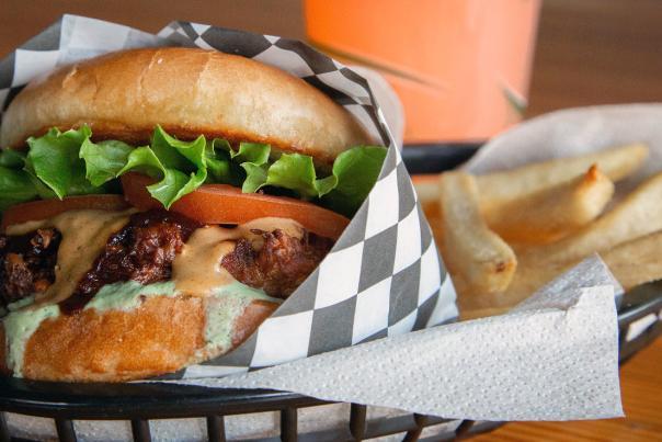 Blazin' Burgerz in Ypsilanti, MI