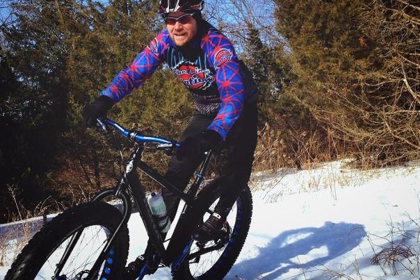 Winter Fat Tire Biking in Ann Arbor