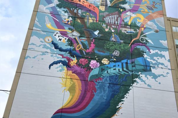 Challenge Everything Ann Arbor Mural