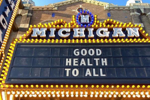 Good Health to All, Michigan Theater, Ann Arbor, MI