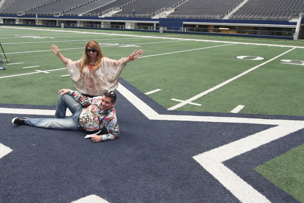 Guests on the Cowboys Star