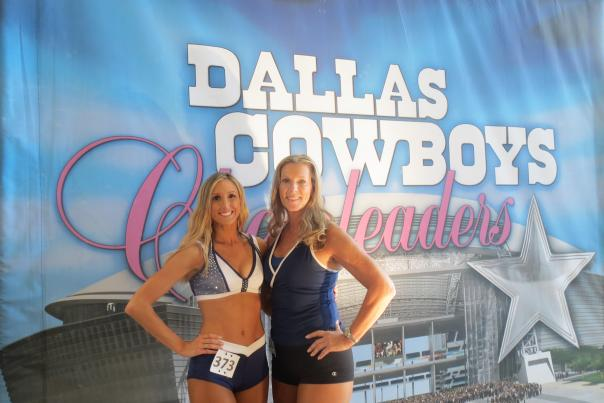 DCC auditions, mom and daughter
