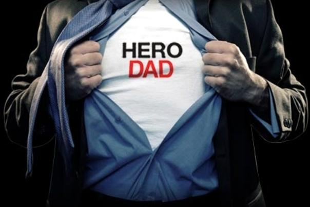 Hero dad father's day