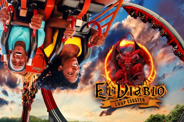 El Diablo Six Flags