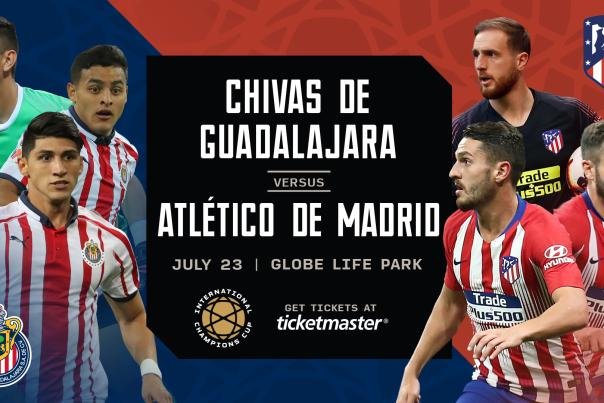 ICC Soccer Match at Globe Life Park