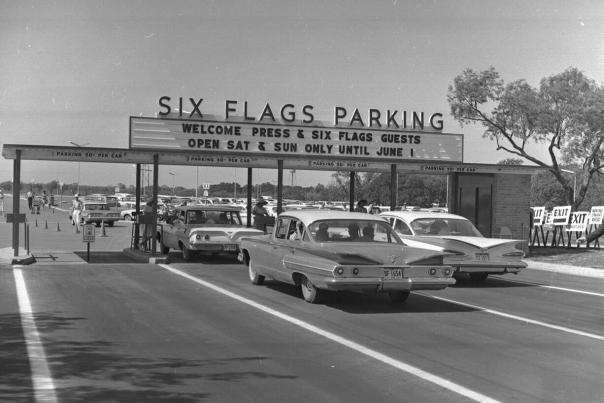 six flags vintage