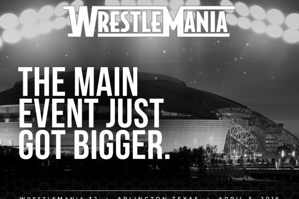 wrestlemania event