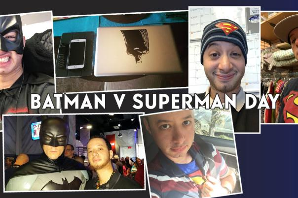 Batman v Superman Day blog