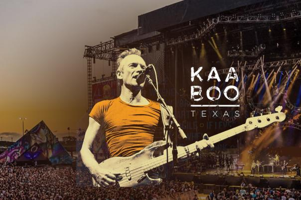 Sting at KAABOO Texas