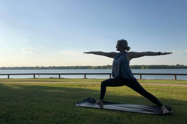 Arlington Yoga Center warrior