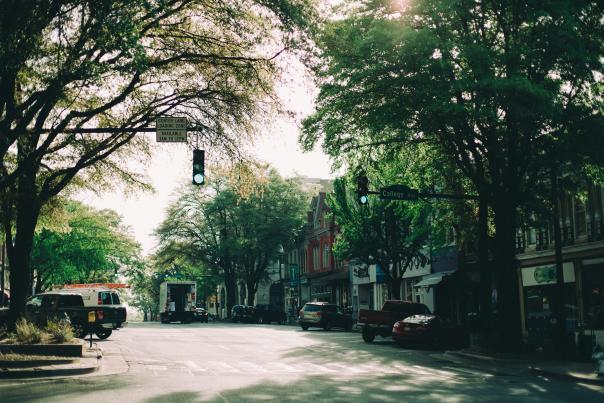 Downtown Athens