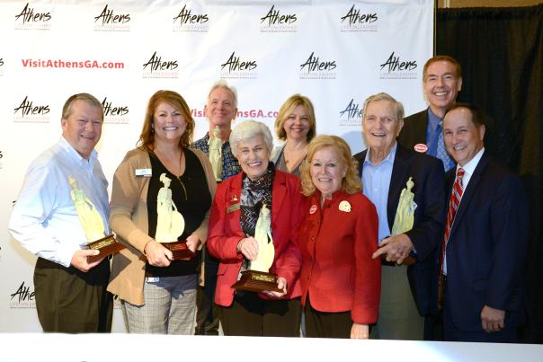 Athens Convention and Visitors Bureau Hospitality winners