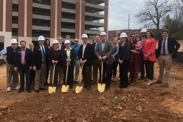 Homewood Suites Groundbreaking