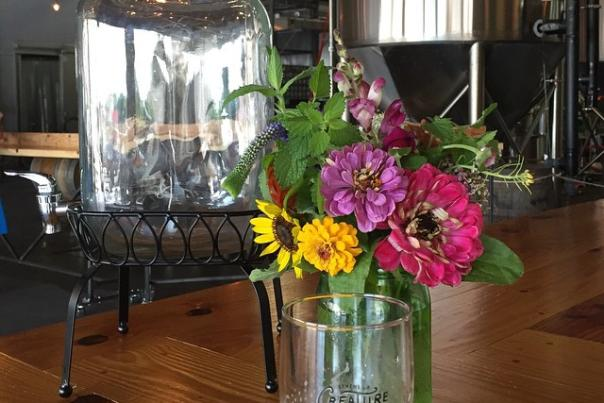 Summer Flowers at Creature Comforts