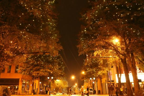 Downtown Athens Lights