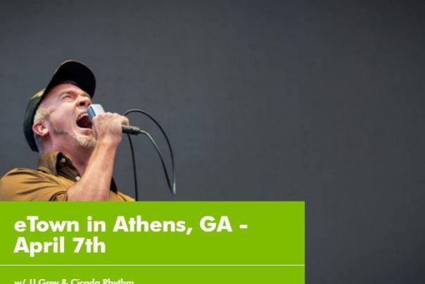 eTown in Athens, GA April 7 2017