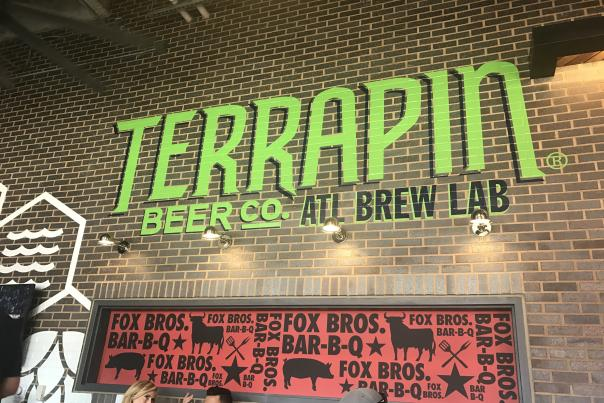 Terrapin Taproom at the Battery.