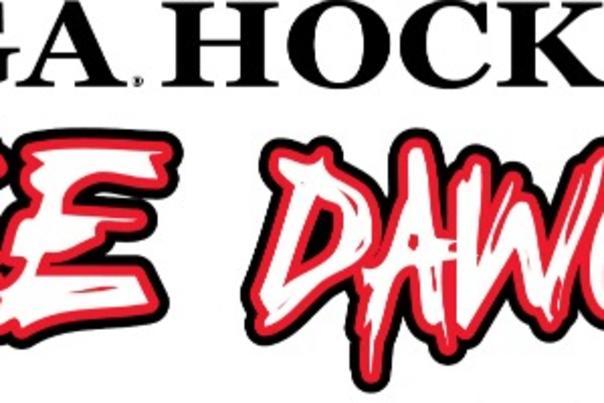 UGA Ice Dogs logo