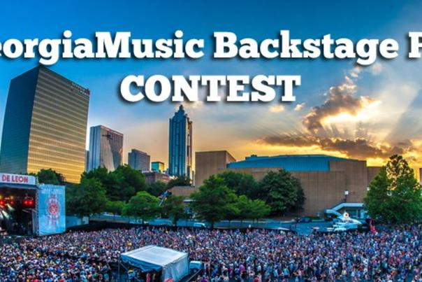 Georgia Music Backstage Pass Contest Header