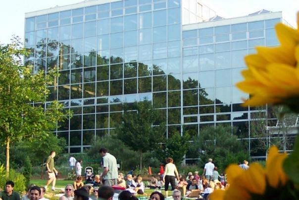 State Botanical Garden lawn