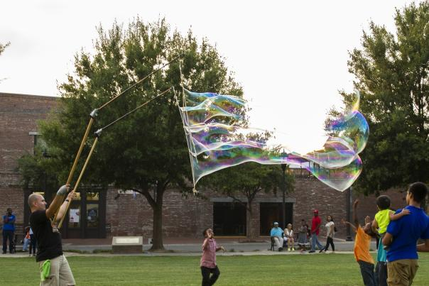 Cropped First Friday Bubbles