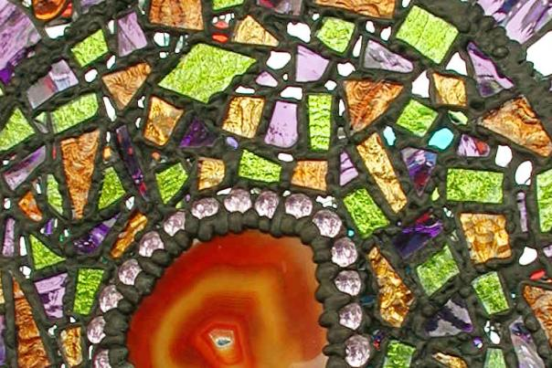 Arts in the heart, glass, art