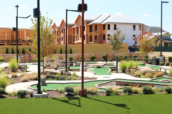 View of Mini Golf Course in Augusta