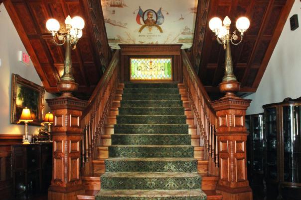 Rosemary Inn Grand Staircase