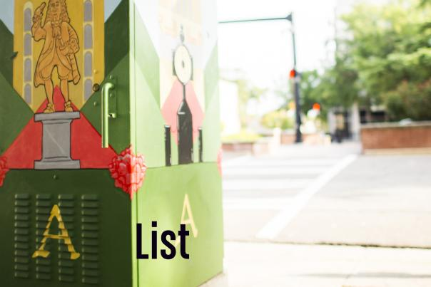 The A List Blog Header