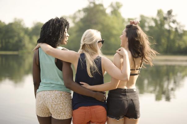 Girls at Bettys Branch