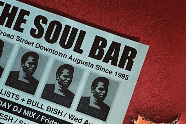 Cropped Soul Bar Menu