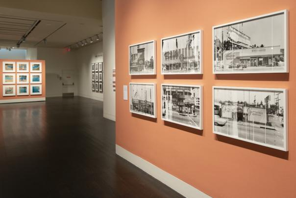 Ed Ruscha Exhibition. Courtesy of the Harry Ransom Center.
