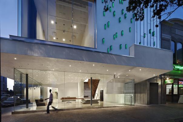 The Contemporary Austin Jones Center, Exterior. Photo Credit Courtesy The Contemporary Austin.