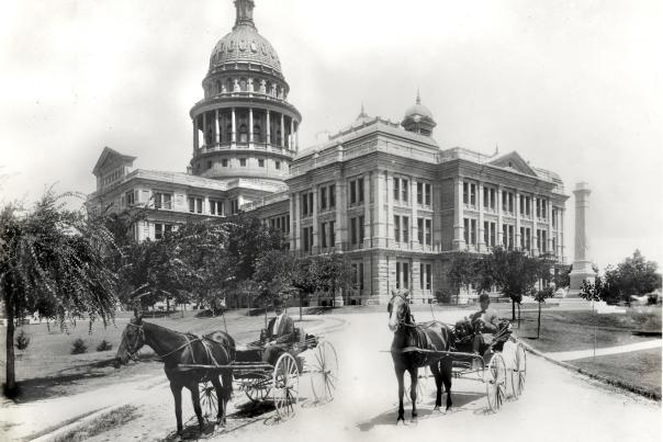 Texas State Capitol. PICA 17958, Austin History Center, Austin Public Library.