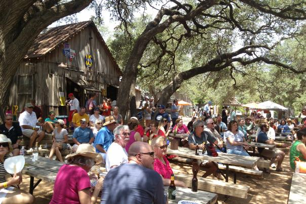 Hill Country Food Truck Fest in Luckenbach. Courtesy of A. Koone.